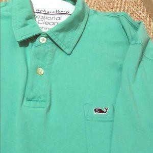 Vineyard vines cotton golf shirt